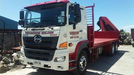 Hiab & truck hire